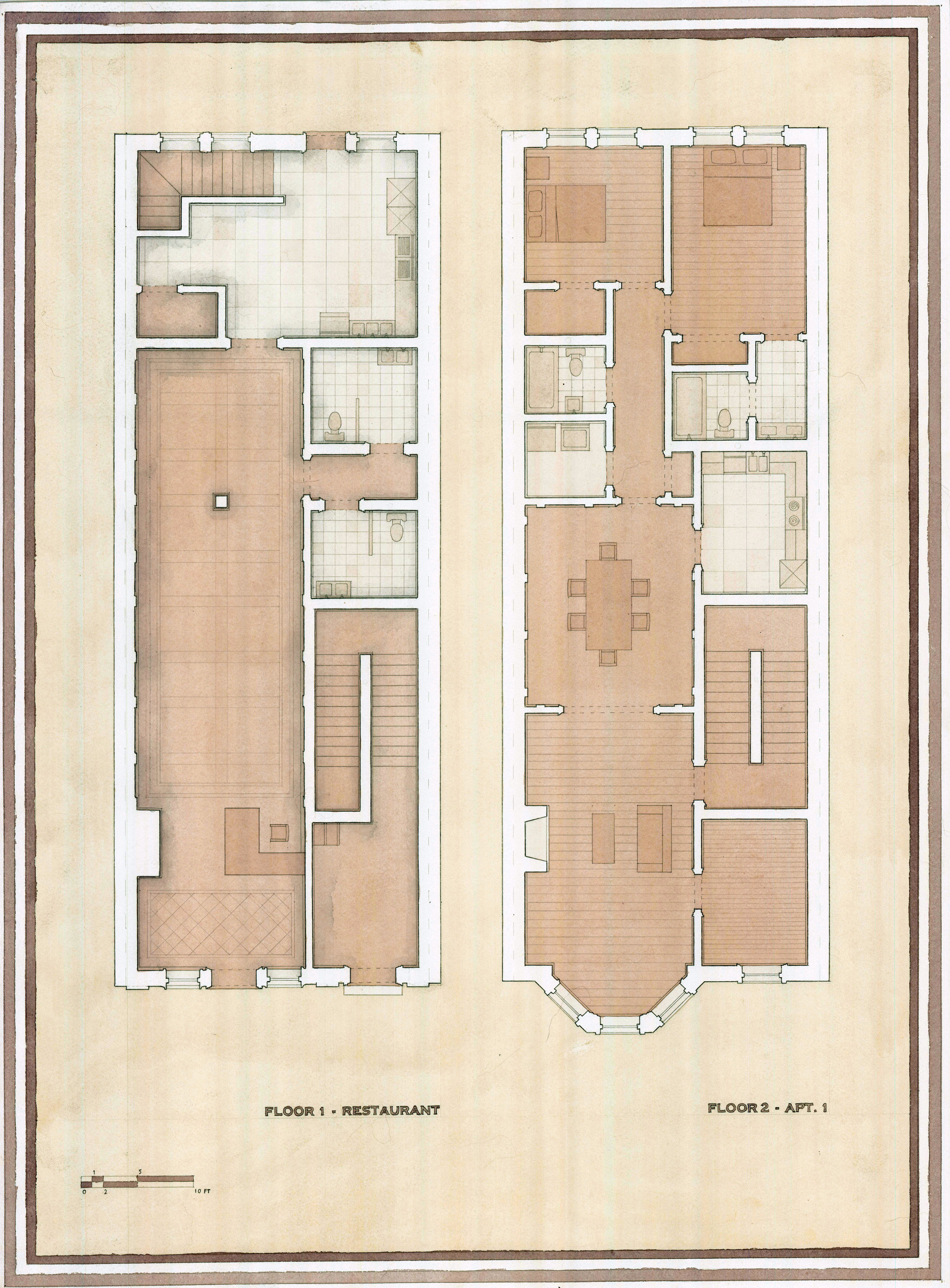 Chicago Townhouse – Drawing Space on chicago theater seating layout, chicago brownstone floor plans, chicago loft floor plans, london row houses floor plans,